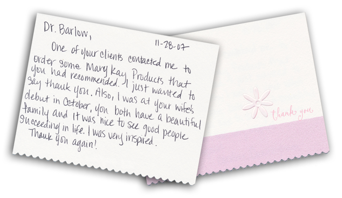 Houston | Clear Lake | Texas | Thank You Notes | Education | Dr ...